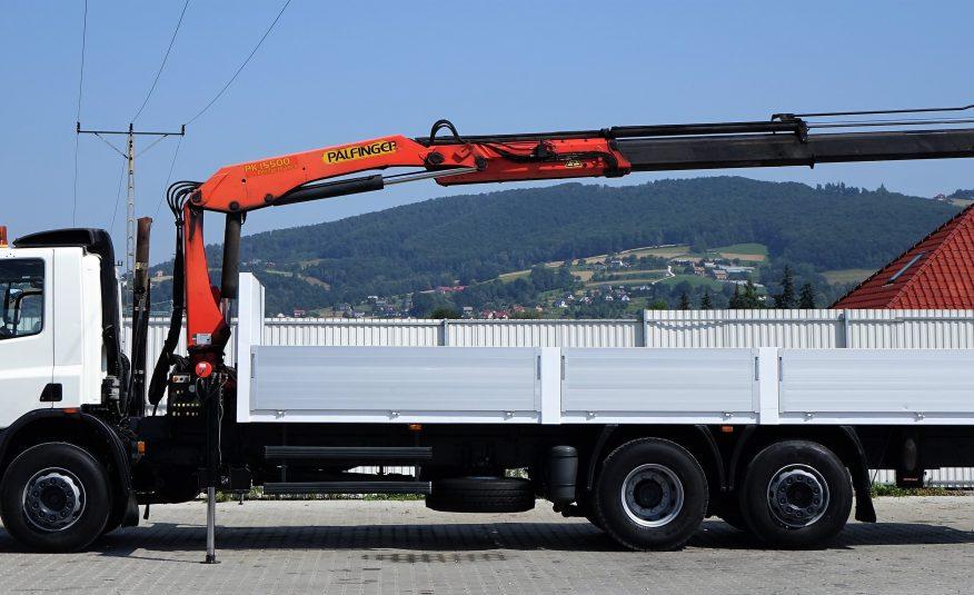 DAF CF 75.310 Skrzynia 7,90m + HDS*6×2* Stan BDB!