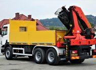 Scania P340 Skrzynia 5,40m +HDS *6×4* Stan BDB!