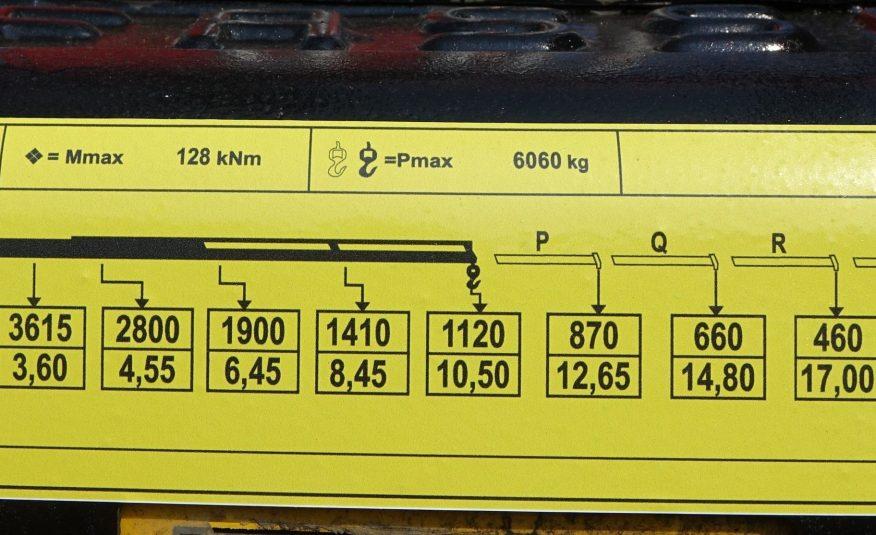 DAF CF 75.360 *Wywrotka 6,10 + HDS* 6×4* Stan Bdb!