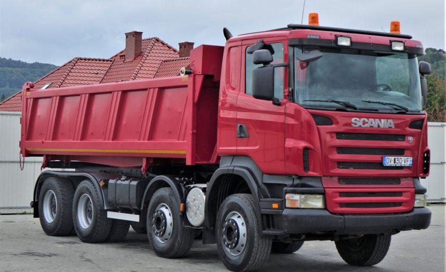 Scania R480 Wywrotka 6,20m +Bordmatic*8×4*STAN BDB