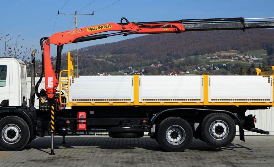 SCANIA P340 WYWROTKA 6,20m + HDS *STAN BDB! 6×2