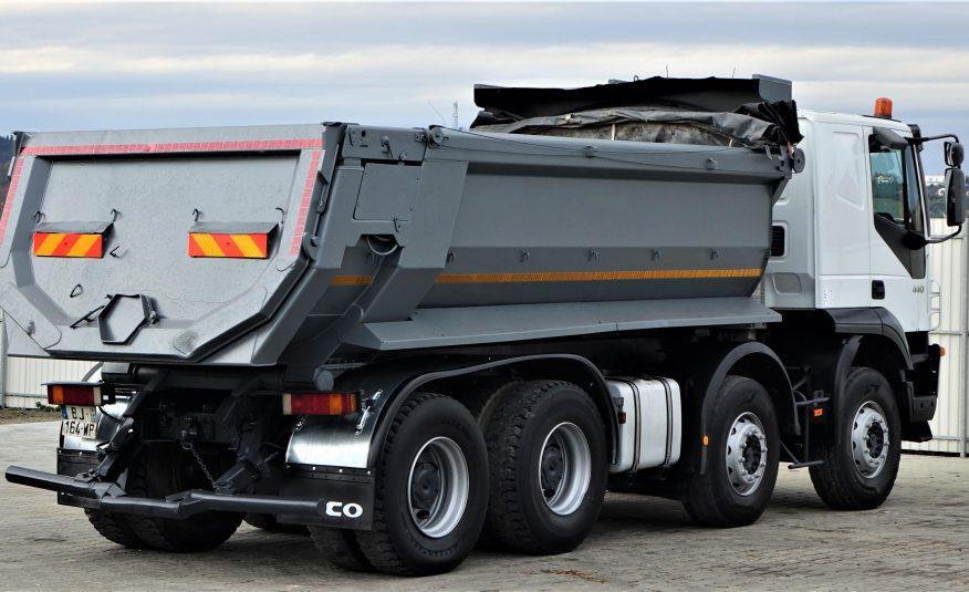 Iveco Trakker 440 WYWROTKA 5,40m *Stan BDB* 8×4