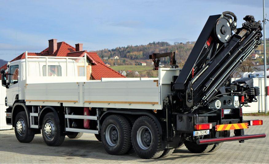 Scania P400 Skrzynia 6,70m/HDS/PILOT*8×4 Stan BDB!