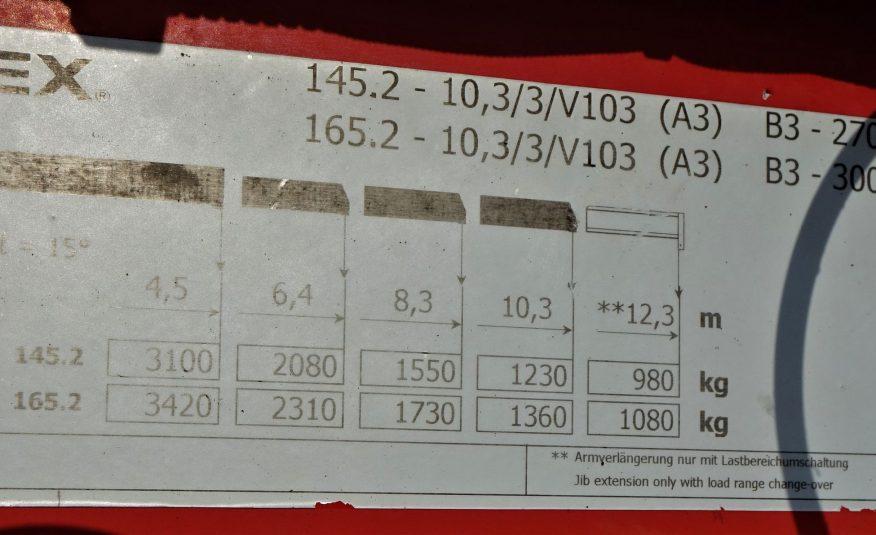 Daf CF 85.410 Skrzynia 7,00m+HDS/6×2 STAN BDB !!