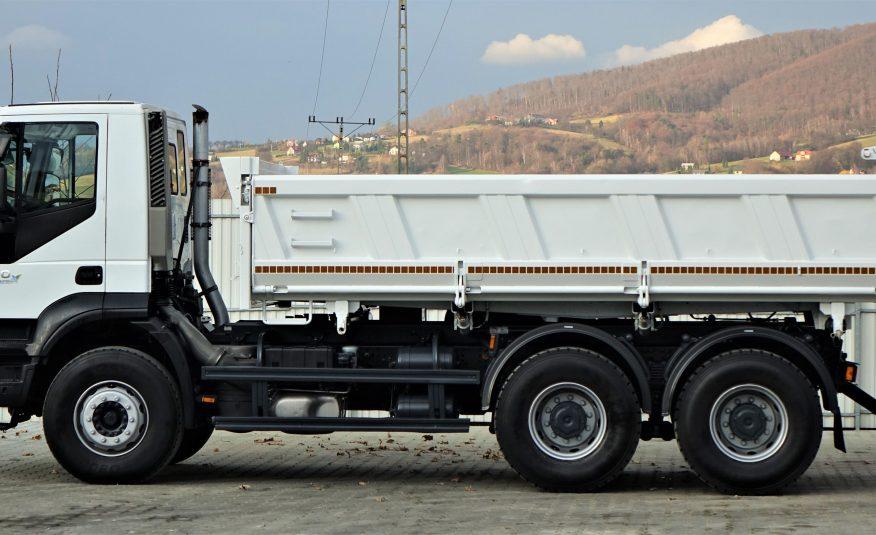 Iveco Trakker 410 Wywrotka + Bordmatic 5,20m 6×4