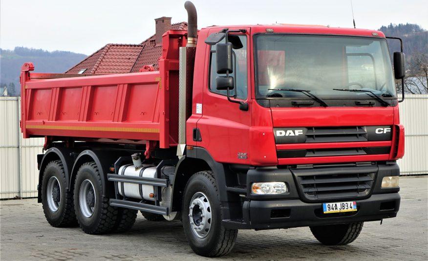 DAF CF 85.380*Wywrotka+Bordmatic 520m 6×4*StanBDB!