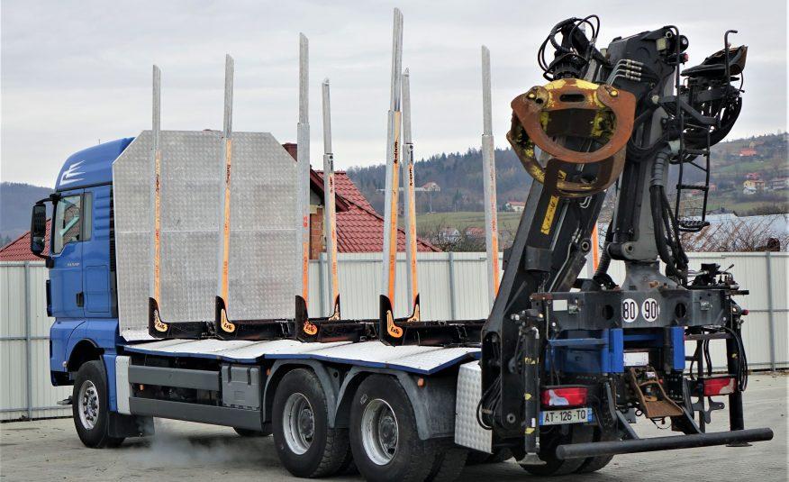 MAN TGX 26.540 Do przewozu drewna + HDS Stan BDB!