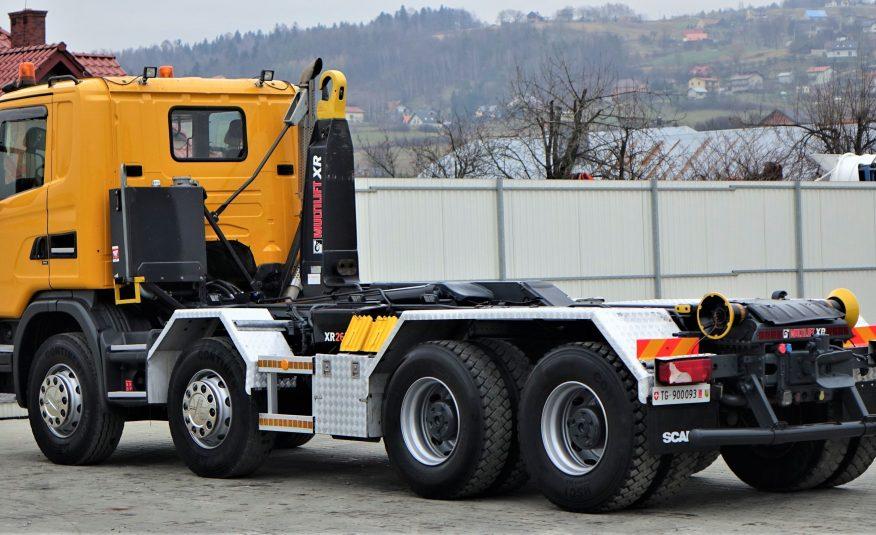 Scania G480 Hakowiec 5,80m *8×4* Stan BDB!
