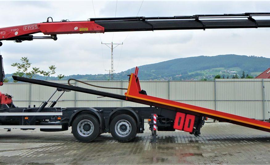VOLVO FM 380 Pomoc drogowa 7,50m + HDS/PILOT *6×2*