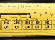 Daf CF 85.380 Skrzynia 5,80m+HDS/4×2 STAN BDB !!