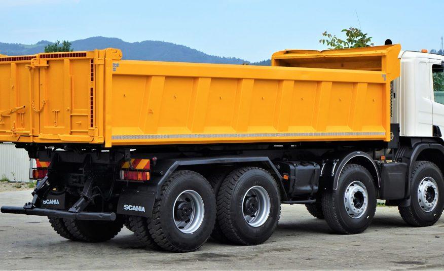 Scania P380 Wywrotka 6,00m + Bordmatic *8×4!!!