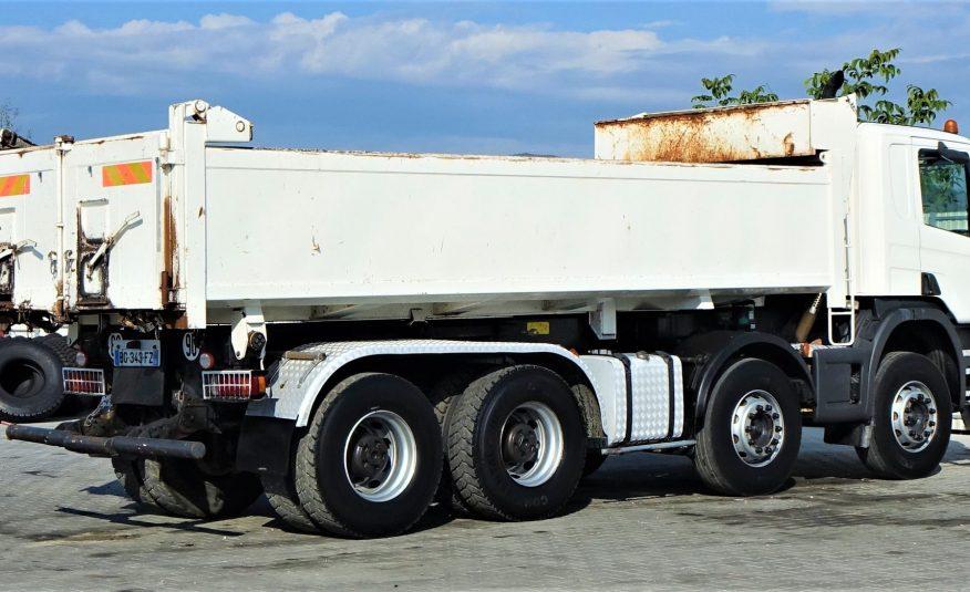 SCANIA P420 Wywrotka 5,90m+Bordmatic *8×4*