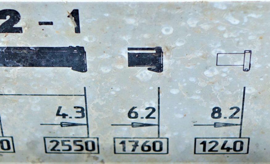 SCANIA 220 WYWROTKA 4,80m + HDS *STAN BDB! 4×2