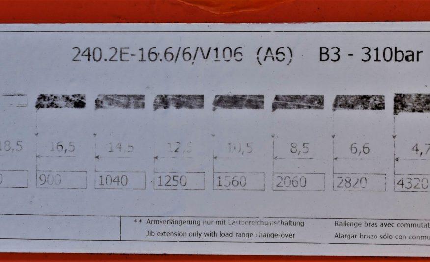 Daf CF 85.380 Skrzynia 6,40m+ATLAS 240.E-A6+PILOT!