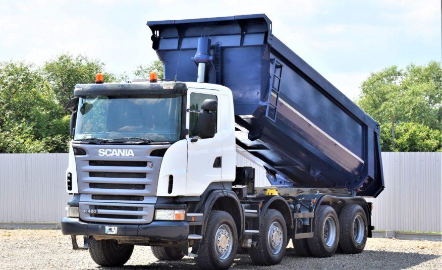 Scania R420 Wywrotka 8×4 ! STAN BDB !