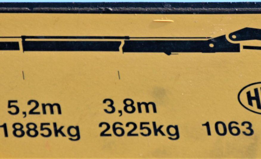 DAF CF 75.310 Hakowiec 5,00m + HMF 106 K2 / 6×4