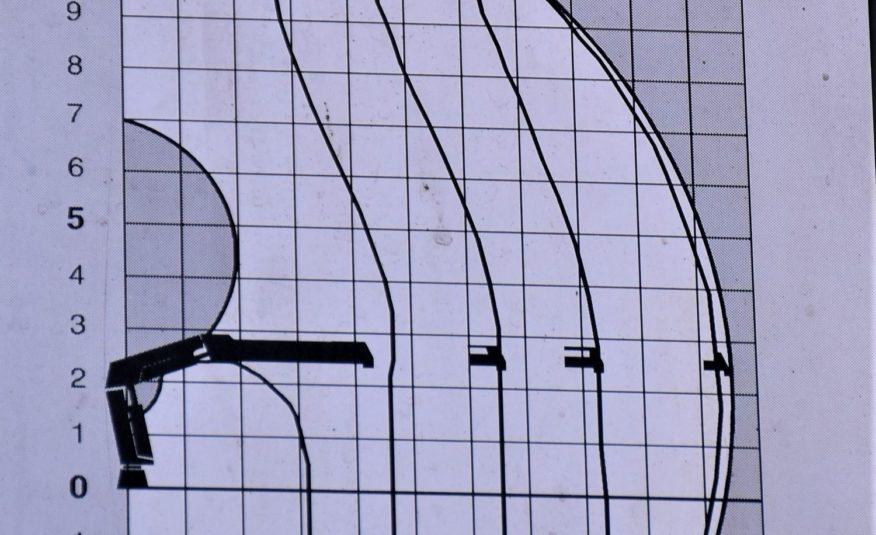 SCANIA P380* WYWROTKA 6,00m+HIAB 144 B-3 DUO / 6×4